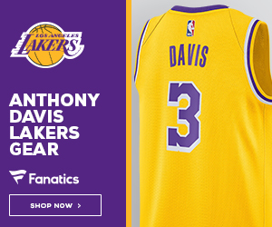 Shop for Anthony Davis Lakers Gear at Fanatics