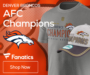 Denver Broncos AFC Champions