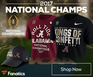 Alabama Crimson Tide National Champs Merchandise