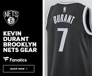 Shop for Kevin Durant Nets Gear at Fanatics