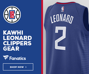 Shop for Kawhi Leonard Clippers Gear at Fanatics
