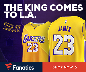 new concept 5e3f8 144ac LeBron James Lakers Jerseys Available as Icon Moves West