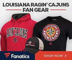 Shop for Louisiana Ragin' Cajuns Gear at Fanatics