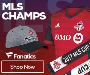 Toronto FC - 2017 MLS Cup Champions Gear