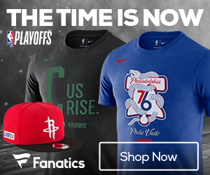 Gear up for the 2018 NBA Playoffs in Fan Gear from Fanatics