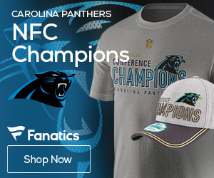 Carolina Panthers NFC Championship Gear