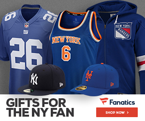 Shop for New York Team Gear at Fanatics.com