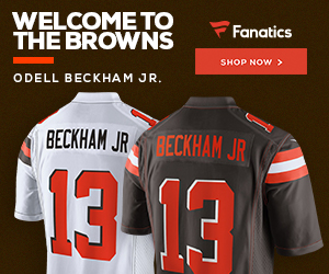 Shop for Odell Beckham Jr. Cleveland Browns Gear at Fanatics.com
