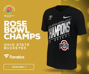 Buckeyes 2019 Rose Bowl Champs Gear from Fanatics