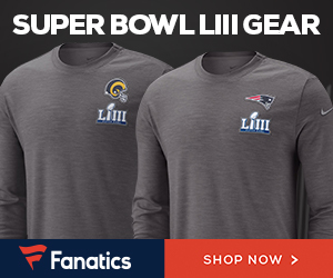 Shop for Super Bowl LIII Gear at Fanatics.com