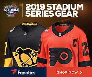 2019 NHL Stadium Series Gear