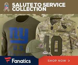 Shop the Salute to Service Collection at Fanatics