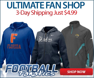 $4.99 3 Day Shipping on All Orders at Football Fanatics