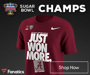 Alabama Crimson Tide Sugar Bowl Champs