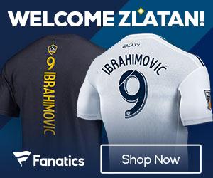 LA Galaxy Zlatan Jerseys and T-shirts