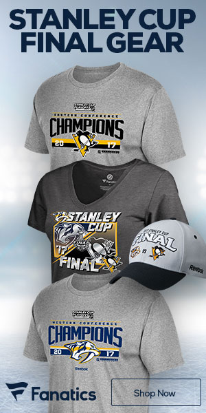 Shop for Nashville Predators 2017 NHL Western Conference Champs and Stanley Cup merchandise at Fanatics.com