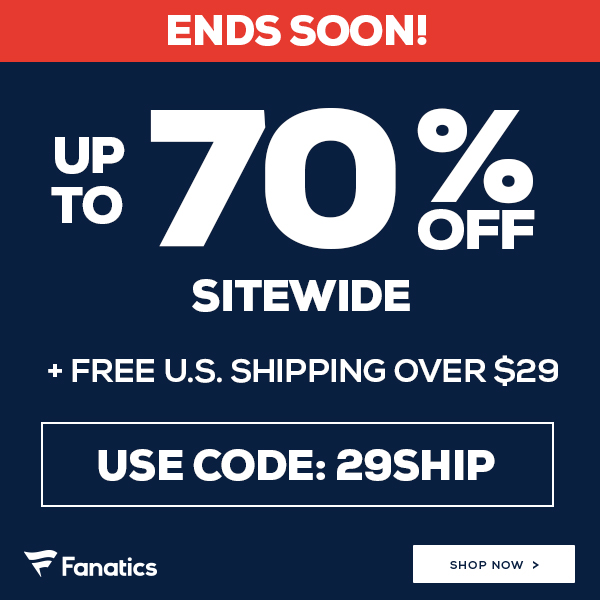 Shop for your holiday Gifts at Fanatics and save big.
