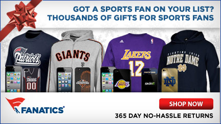 Shop for the Holidays at Fanatics!