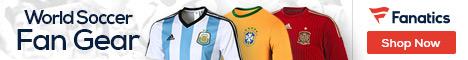 Shop 2014 World Soccer Italy fan gear at Fanatics.com!