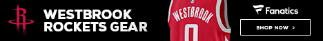 Shop for Russell Westbrook Rockets Gear at Fanatics
