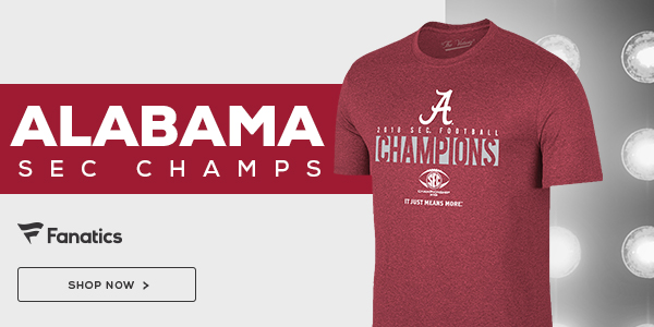 Alabama Crimson Tide 2018 SEC Champs Gear