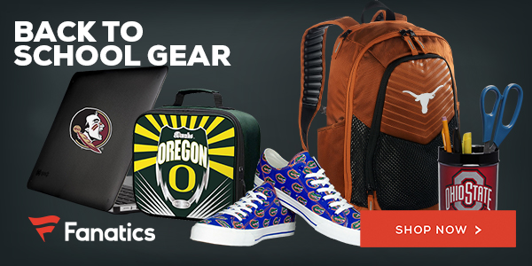 Shop Back-to-School Gear at Fanatics.com