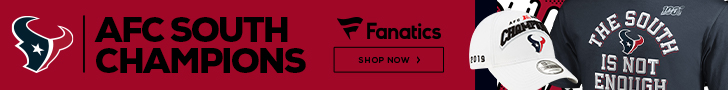 Get your 2019 Houston Texans AFC South Division Champs gear at Fanatics