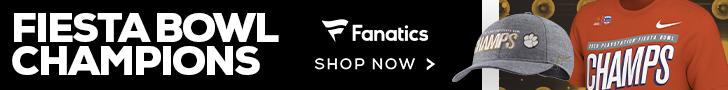Shop for 2019 Clemson Tigers Fiesta Bowl Champs Fan Gear at Fanatics