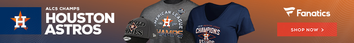 Get Astros 2019 AL West Champs Fan Gear at Fanatics
