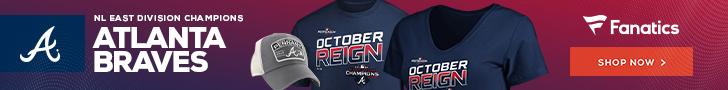Atlanta Braves 2019 NL East Champs Fan Gear from Fanatics
