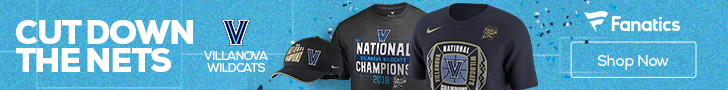 Villanova Wildcats 2018 NCAA Basketball Champs