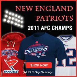 Shop for New England Patriots 2011 AFC Champions Gear at Fanatics
