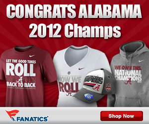 Alabama 2013 BCS Champs Gear At Fanatics! Roll Tide!