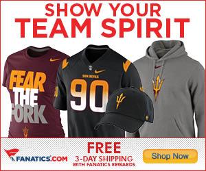 Shop for Arizona State Sun Devils Gear at Fanatics!