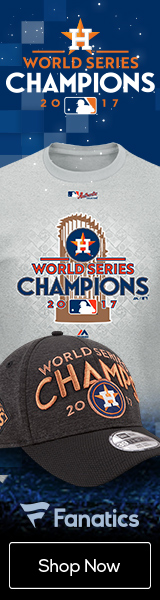 Houston Astros 2017 World Series Championship Gear