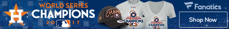 Houston Astros 2017 World Series Championship Gear