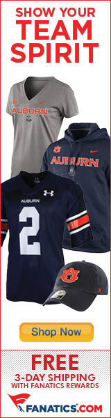 Shop for Auburn Tigers Gear at Fanatics!