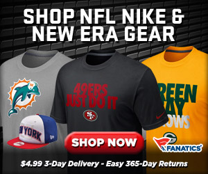 Shop Fanatics for new 2012 Official NFL Team Gear from Nike and New Era