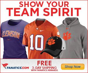 Shop for Clemson Tigers Gear at Fanatics!