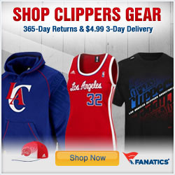 Shop for Official LA Clippers Team Gear at Fanatics!