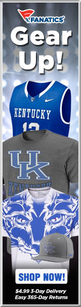 Shop Kentucky Wildcats basketball gear at Fanatics!
