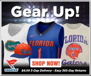 Shop Florida Gators basketball gear at Fanatics!