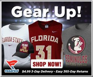 Shop Florida State Seminoles basketball gear at Fanatics!