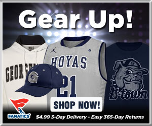 Shop Georgetown Hosiers basketball gear at Fanatics!