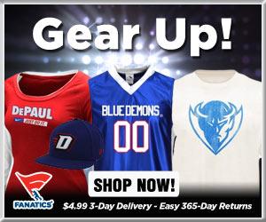 Shop for DePaul Blue Demons Gear at Fanatics!