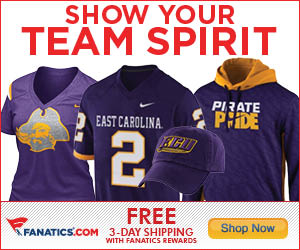 Shop for East Carolina Pirates Gear at Fanatics!