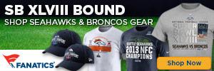 Shop XLVIII Super Bowl Bound gear at Fanatics.com!