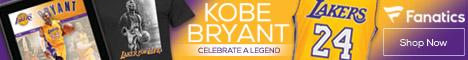 Kobe Bryant Retirement Gear