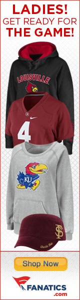 Shop officially licensed NCAA Ladies gear at Fanatics.com!