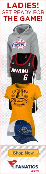 Shop officially licensed Ladies NBA fan gear at Fanatics.com!